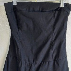 Form-Fitting Black Romper, very sexy on!